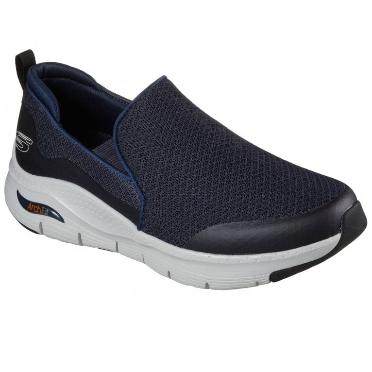 Skechers Arch Fit Banlin Mens Slip On Trainers