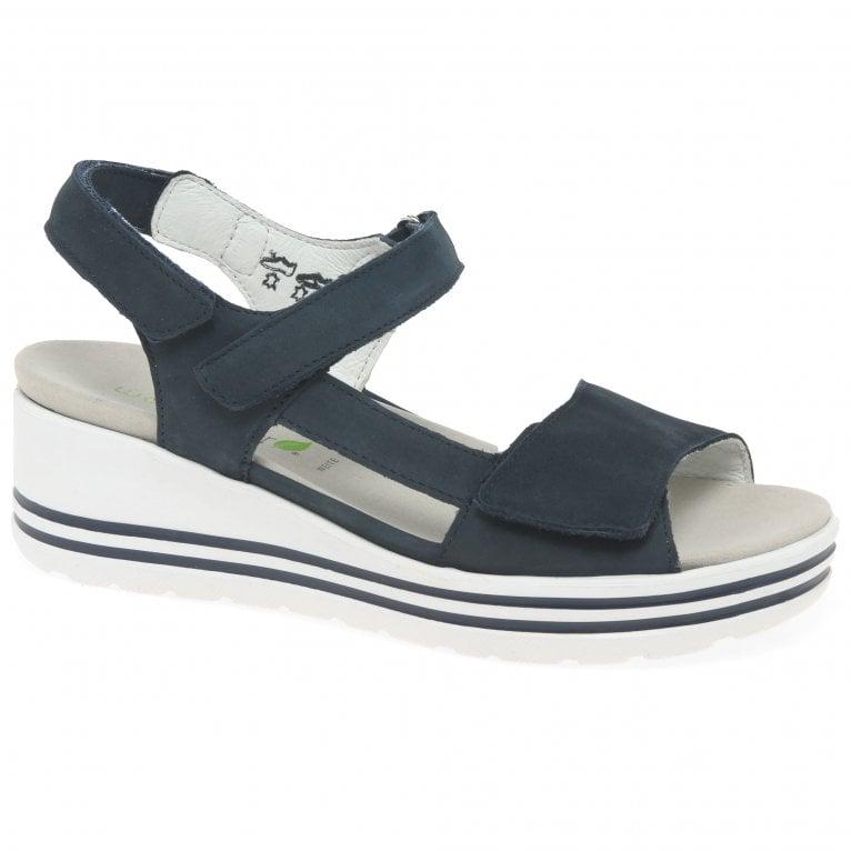 Waldlaufer Maura Womens Wedge Heel Sandals
