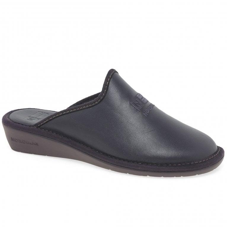 Nordikas Naomi II Leather Ladies Slippers