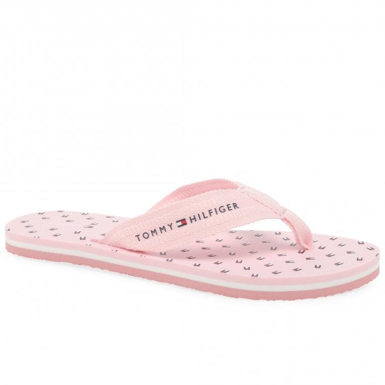 Tommy Hilfiger Mini Flags Womens Beach Sandals