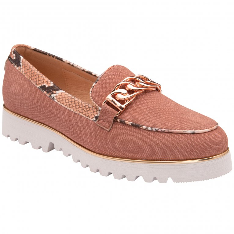 Lotus Billie Womens Chunky Loafers
