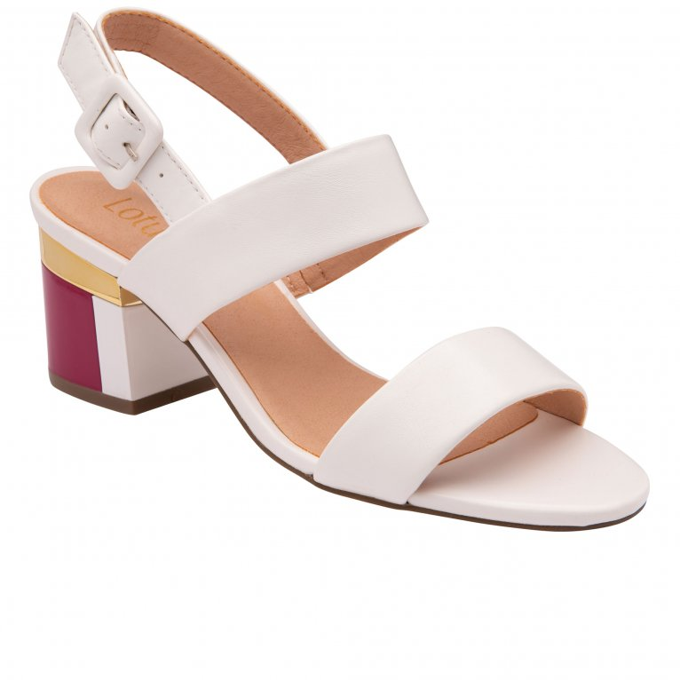 Lotus Sylvie Womens Heeled Sandals