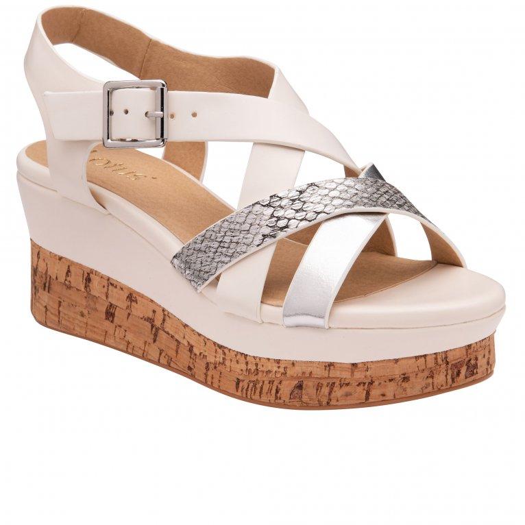 Lotus Belinda Womens Wedge Sandals