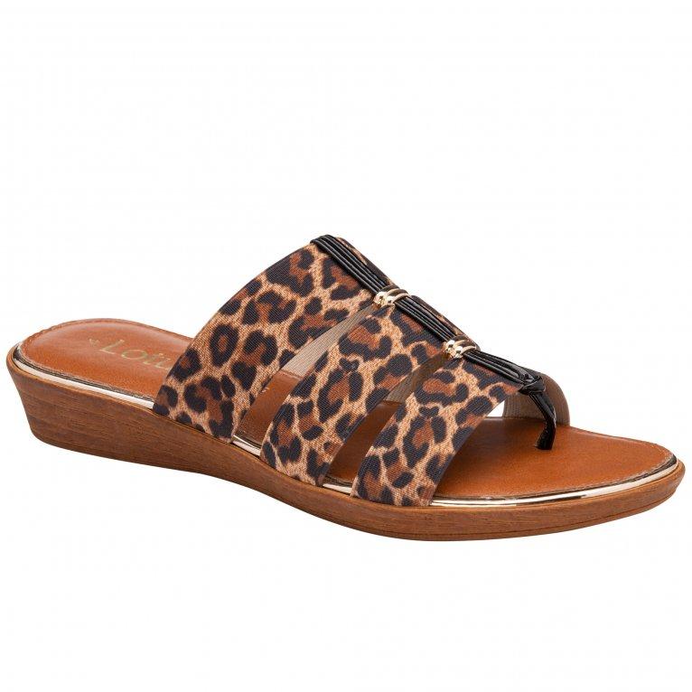 Lotus Norah Womens Toe Post Sandals