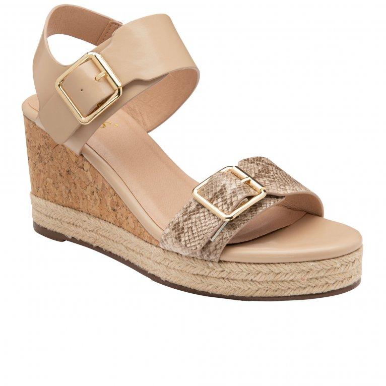 Lotus Primrose Womens Wedge Sandals