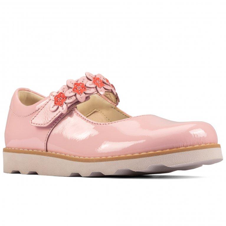 Clarks Crown Petal Childrens Shoes