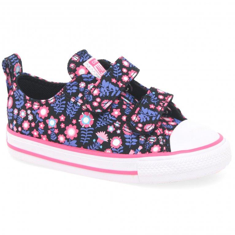 Converse Allstar 2V Girls Infant Canvas Shoes