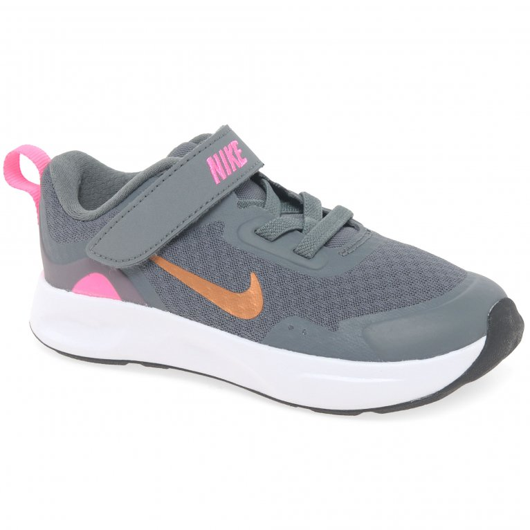 Nike Wearallday Girls Toddler Sports Trainers