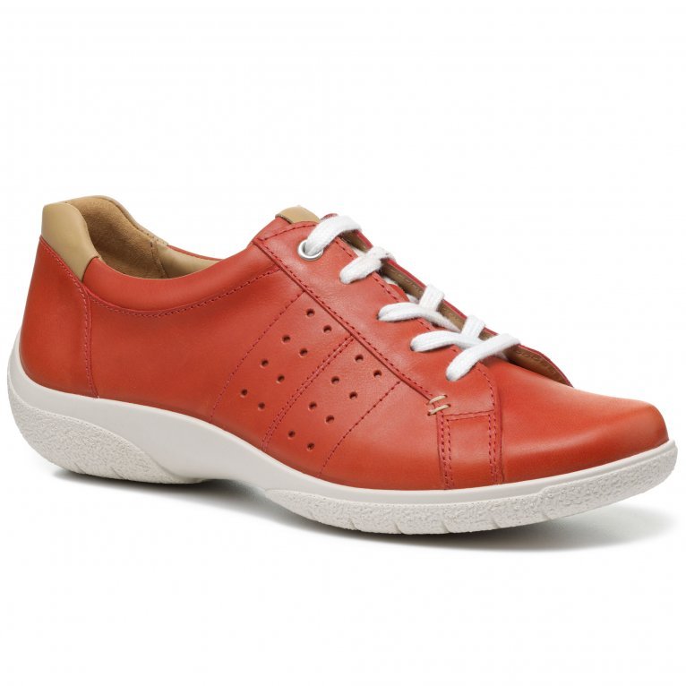 Hotter Fearne II Womens Wide Fit Lace Up Shoes
