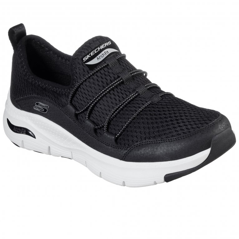 Skechers Arch Fit Lucky Thoughts Womens Sports Trainers