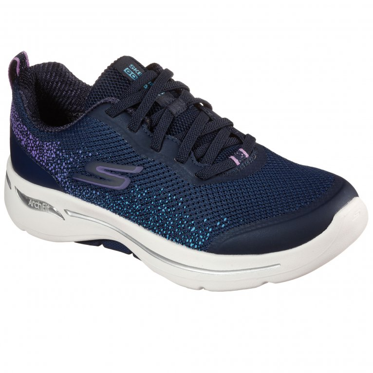 Skechers Go Walk Arch Fit Womens Sports Trainers