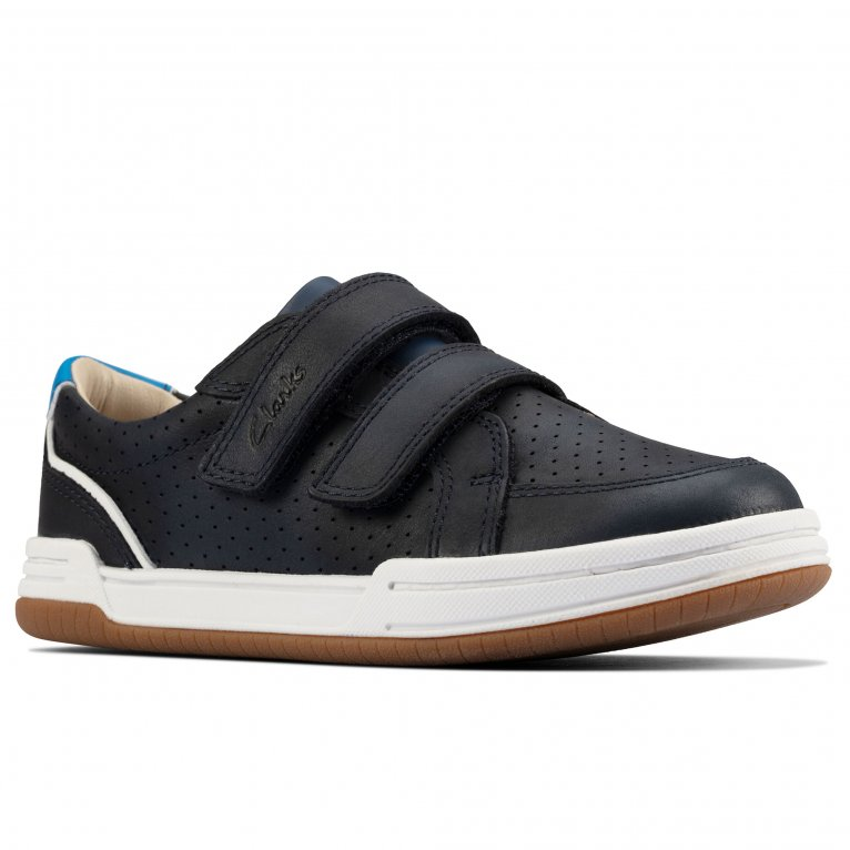 Clarks Fawn Solo Childrens Trainers