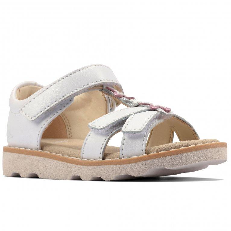 Clarks Crown Flower T Girls Infant Sandals