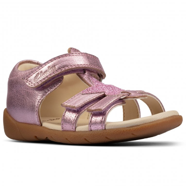 Clarks Zora Summer Childrens Open-Toe Sandals