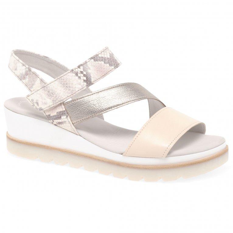 Gabor Yarm Womens Wedge Heel Sandals