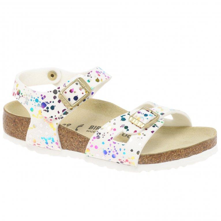 Birkenstock Rio Confetti Girls Sandals
