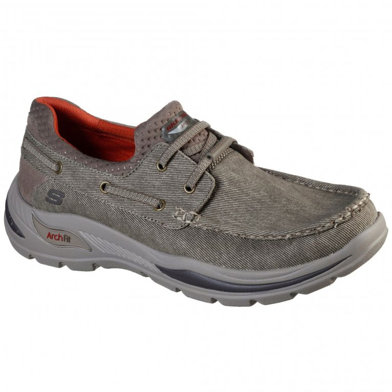 Skechers Arch Fit Motley Oven Mens Slip On Shoes