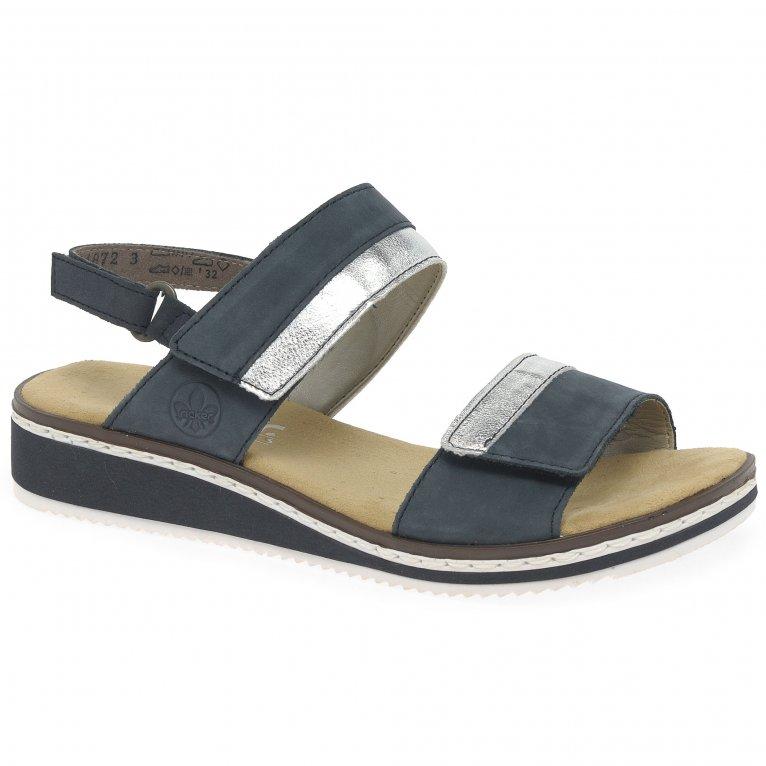 Rieker Saints Womens Wedge Heel Sandals