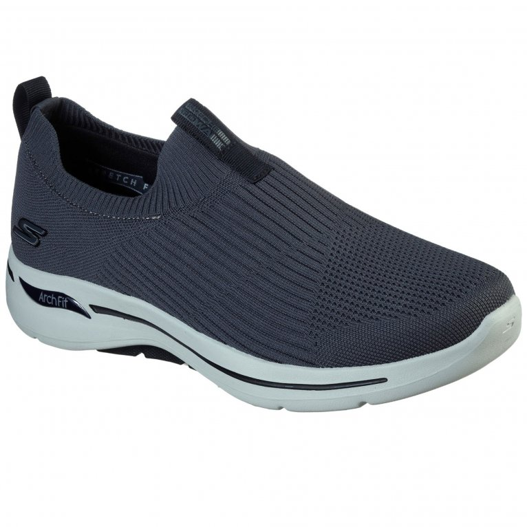 Skechers Go Walk Arch Fit Iconic Mens Slip On Shoes
