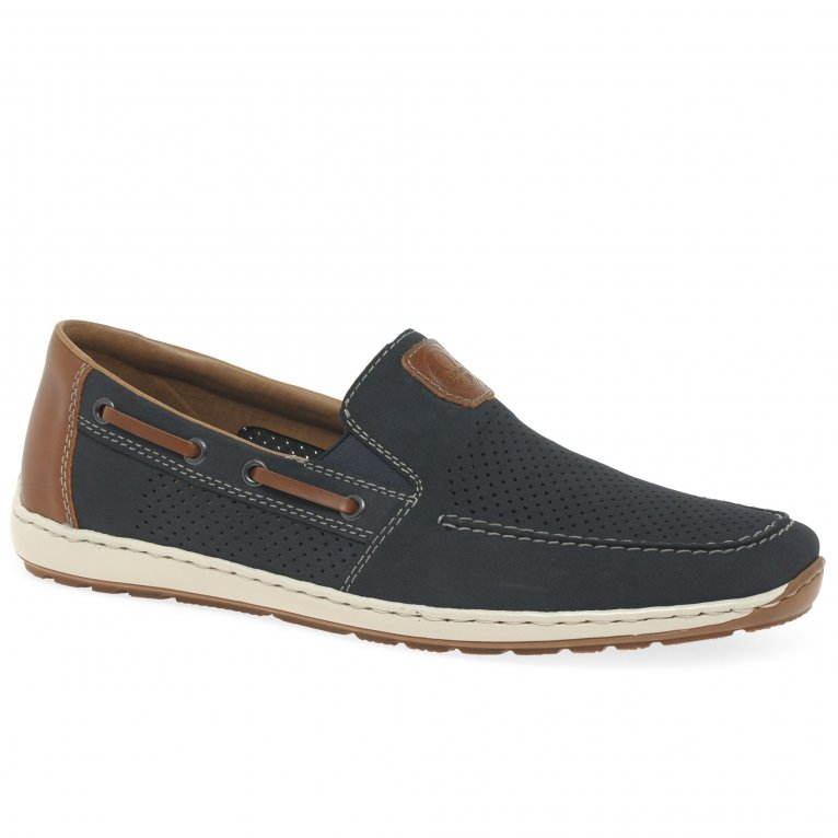 Rieker Mariner Mens Slip On Boat Shoes