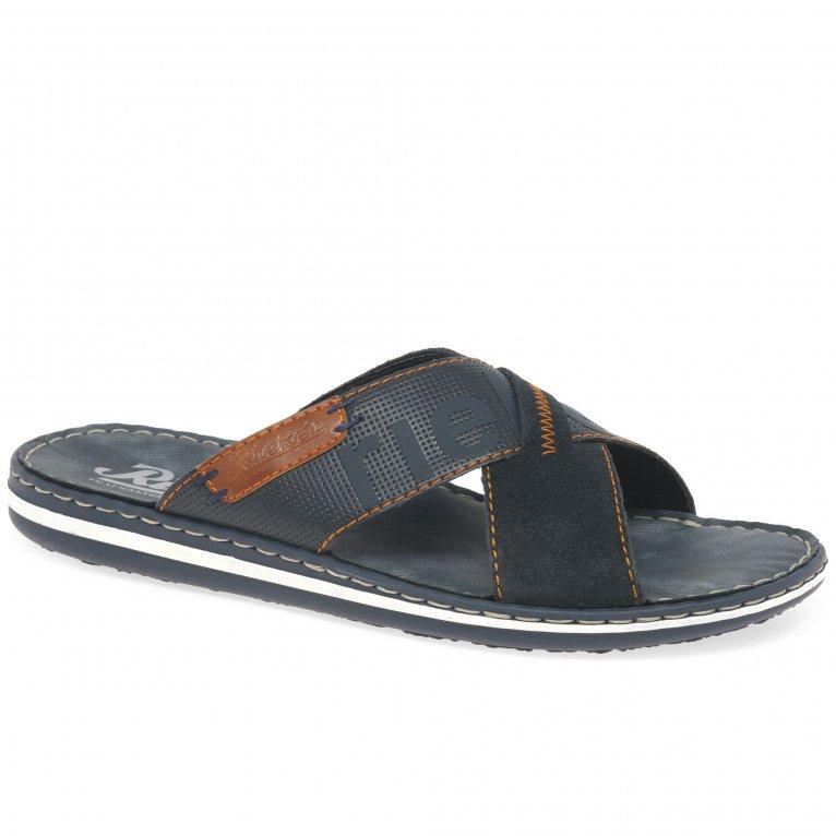 Rieker Waves Mens Sandals