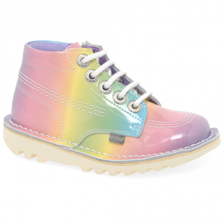 Kickers Hi Rainbow Girls Infant Boots