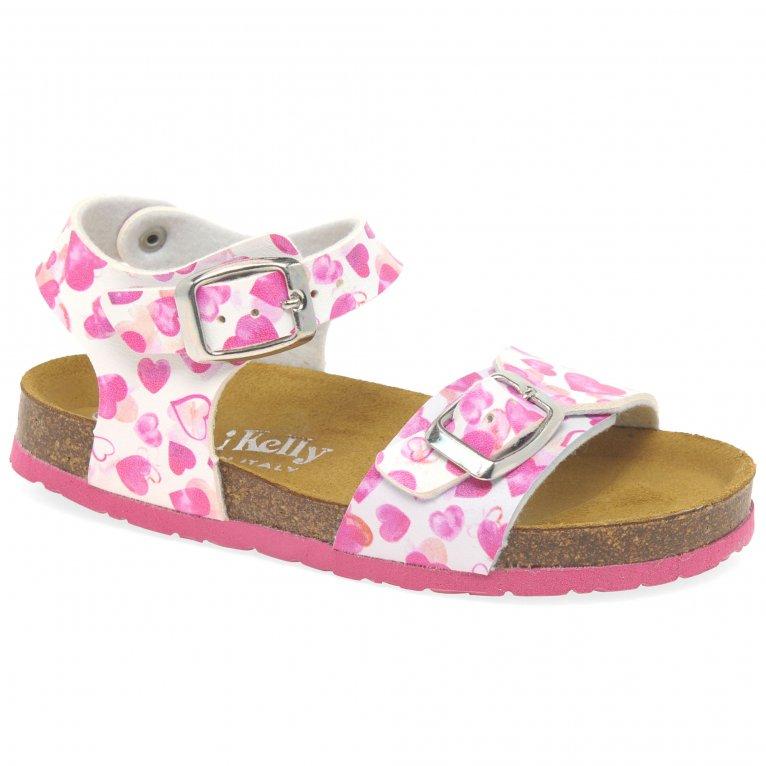 Lelli Kelly Chiara Heart Girls Sandals