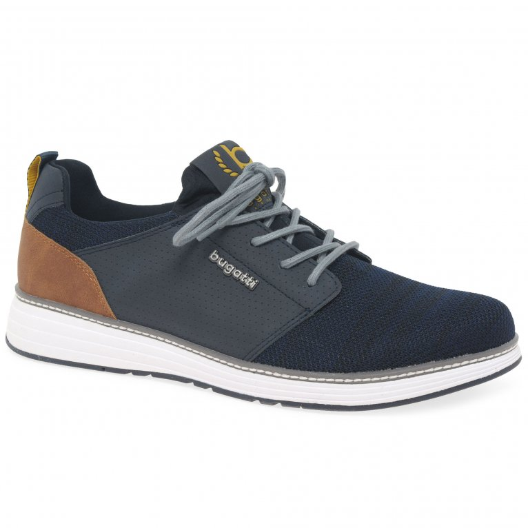 Bugatti Carter Mens Lightweight Lace Up Trainers