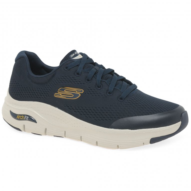 Skechers Arch Fit Lace Mens Trainers