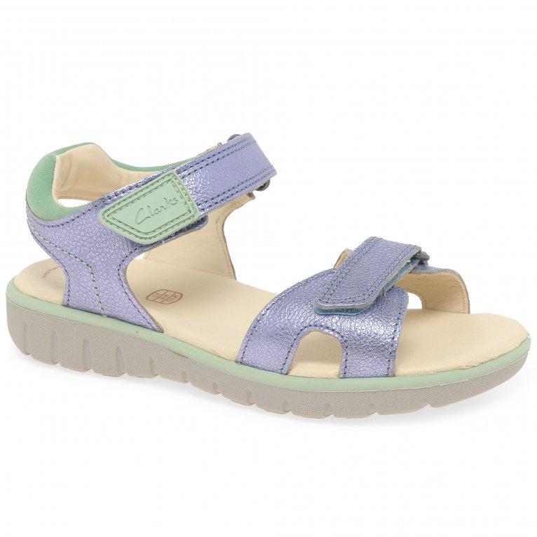 Clarks Roam Surf K Girls Sandals