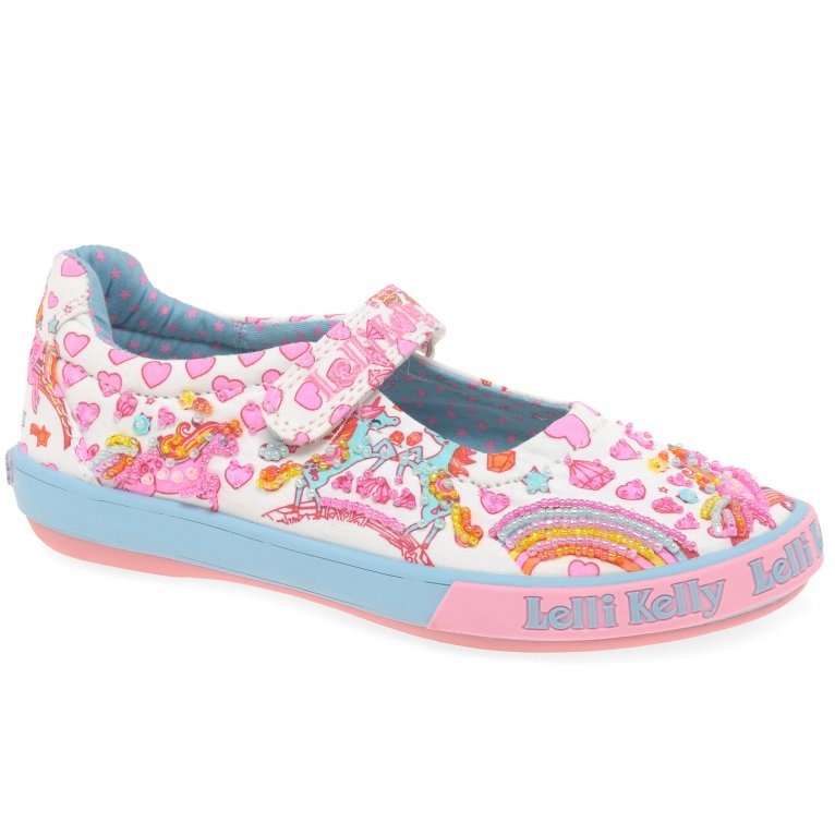 Lelli Kelly Dorothy Dolly Girls Infant Canvas Shoes