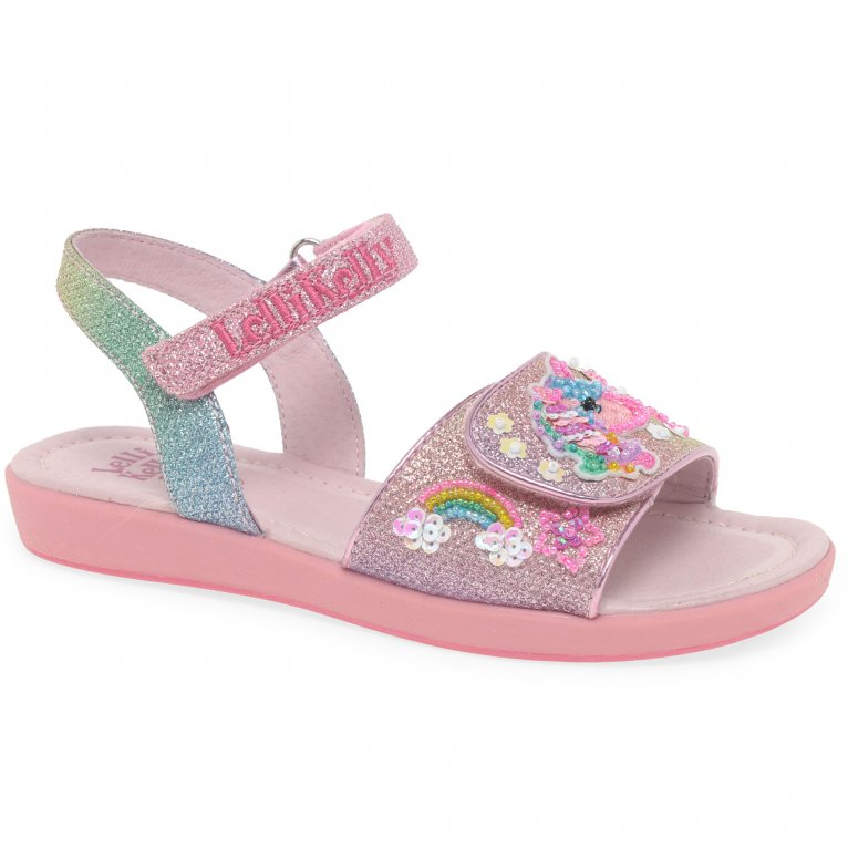 Lelli Kelly Treasure Unicorn Girls Sandals