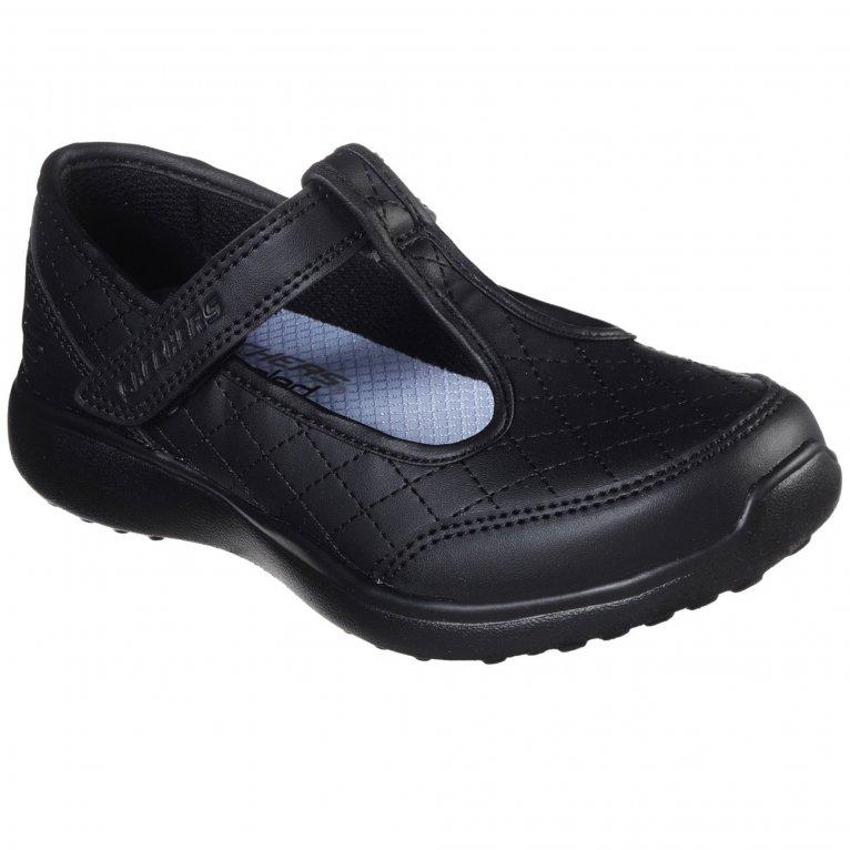 Skechers Microstrides School Trend Girls Shoes
