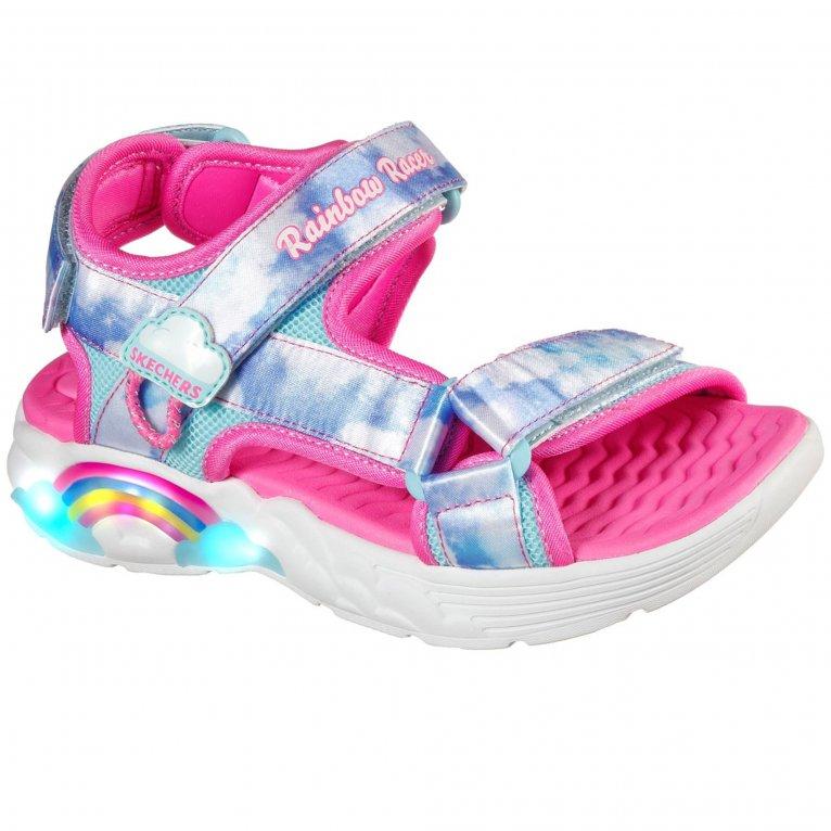 Skechers Racer Sandals Summer Sky Girls Sandals
