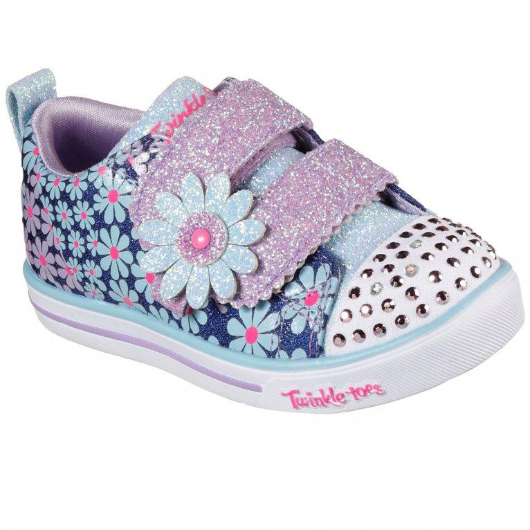 Skechers Sparkle Lite Mini Blooms Girls Trainers