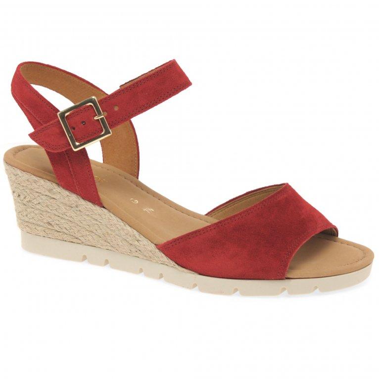 Gabor Nieve Womens Wedge Heel Sandals
