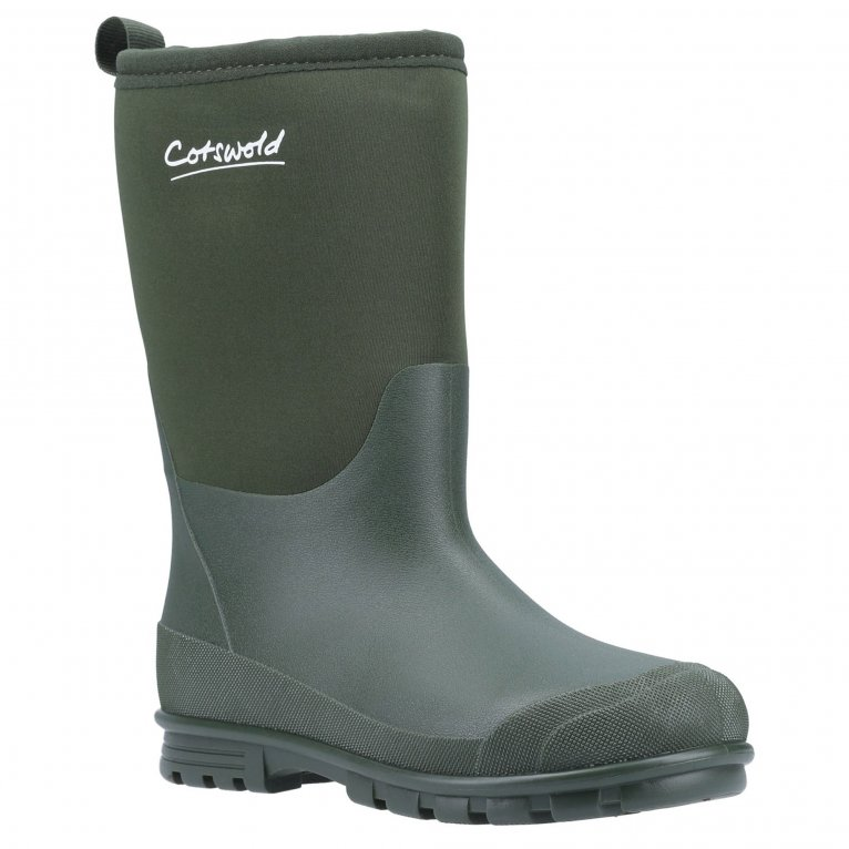 Cotswold Hilly Neoprene Childrens Wellington Boots