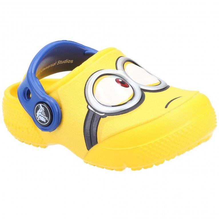 Crocs Fun Lab Minions Childrens Sandals