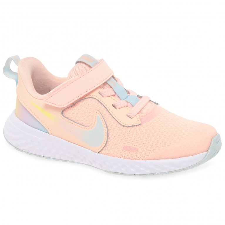 Nike Revolution 5 SE Girls Youth Sports Trainers