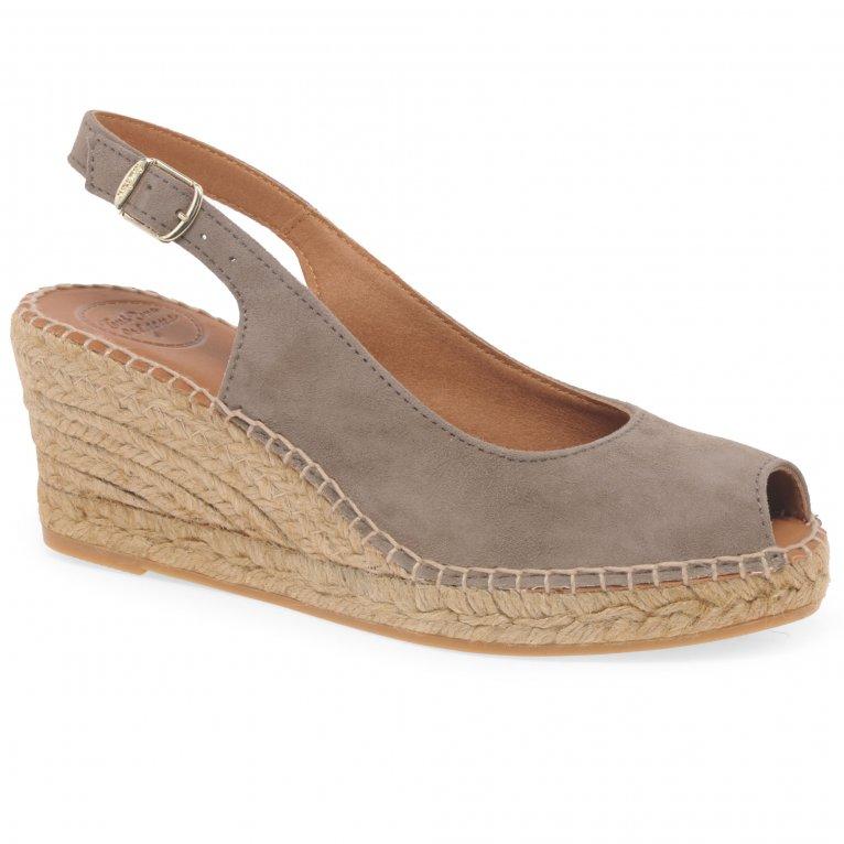 Toni Pons Calpe Womens Wedge Heel Espadrille Sandals