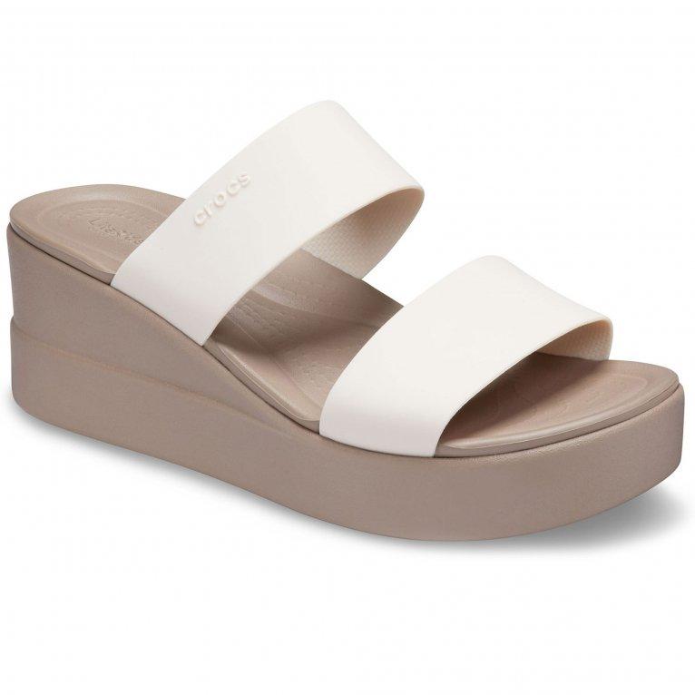 Crocs Brooklyn Womens Wedge Sandals