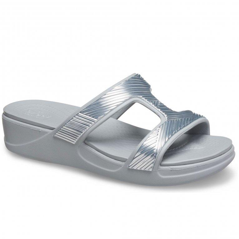Crocs Monterey Metallic Womens Sandals