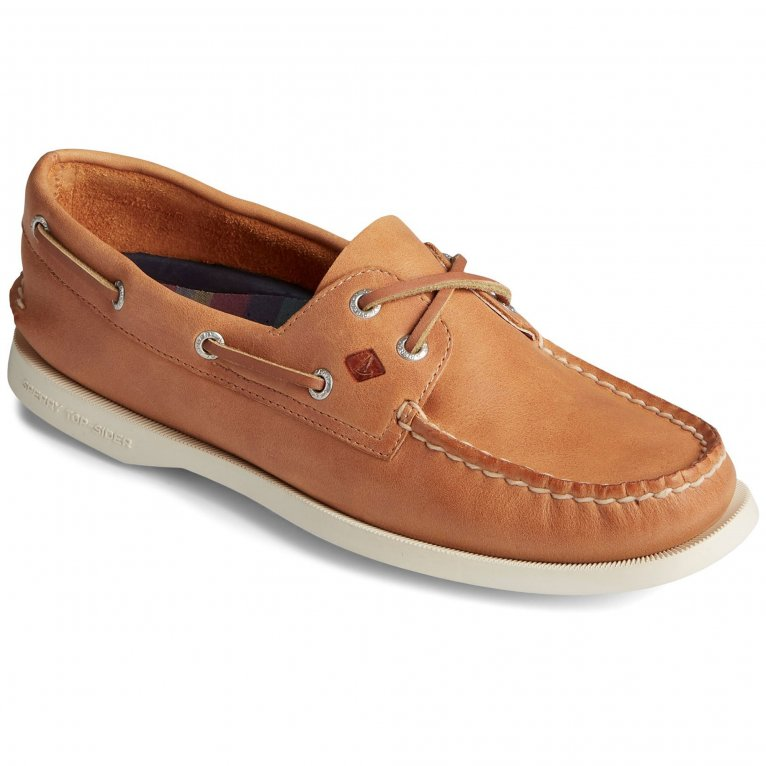 Sperry Top-Sider A/O 2-Eye Splash Womens Leather Slip On Shoes