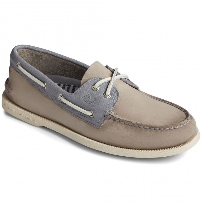 Sperry Top-Sider A/O 2-Eye Tumbled/Nubuck Mens Lace Shoes