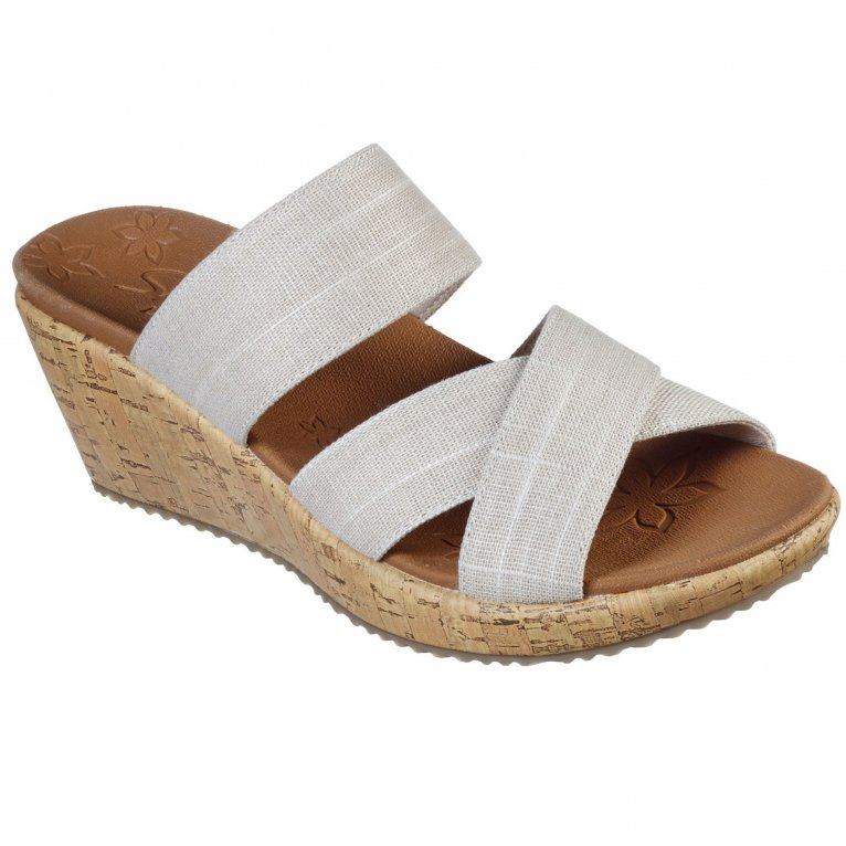 Skechers Beverlee Canyon Dangle Womens Wedge Sandals