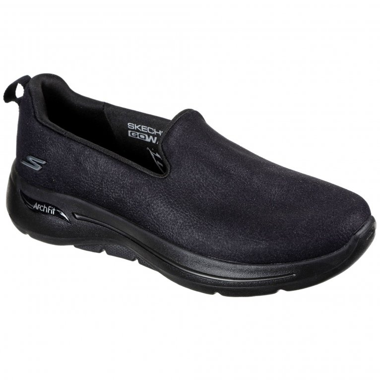 Skechers Go Walk Arch Fit Smooth Voyage Womens Trainers