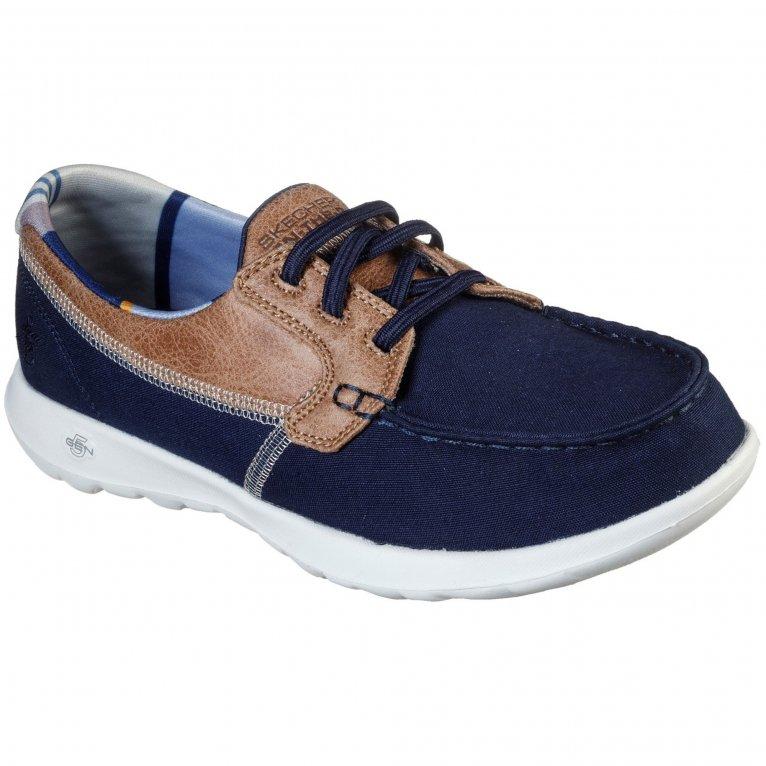 Skechers GoWalk Lite Playa Vista Womens Boat Shoes