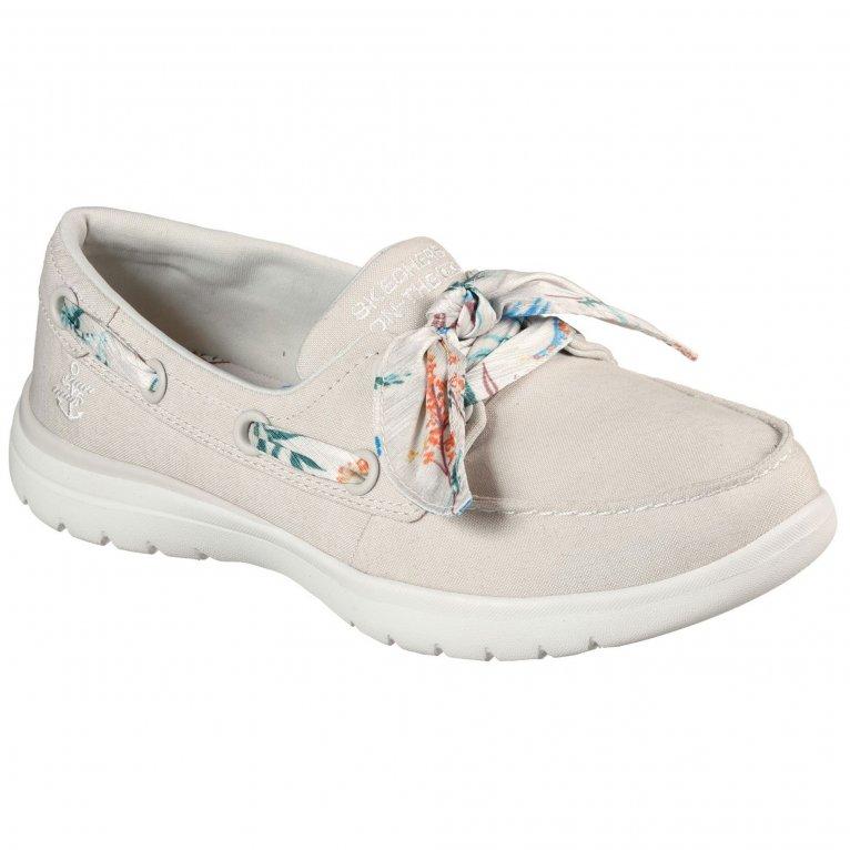 Skechers On-The-Go Flex Cast Away Womens Boat Shoes