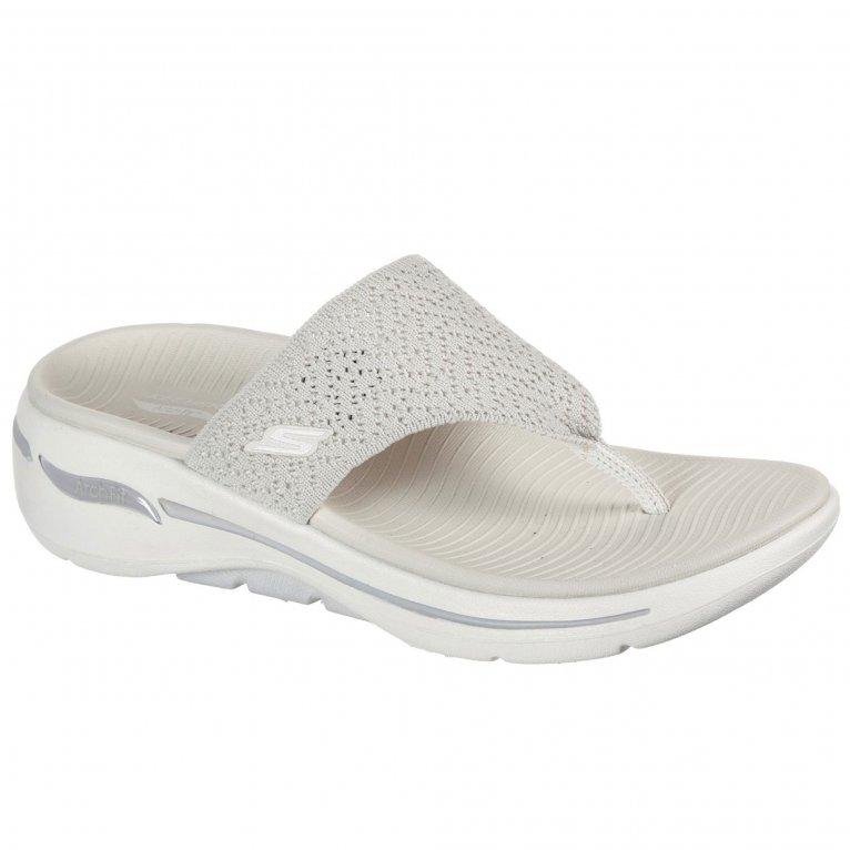Skechers Go Walk Arch Fit Weekender Womens Toe Post Sandals