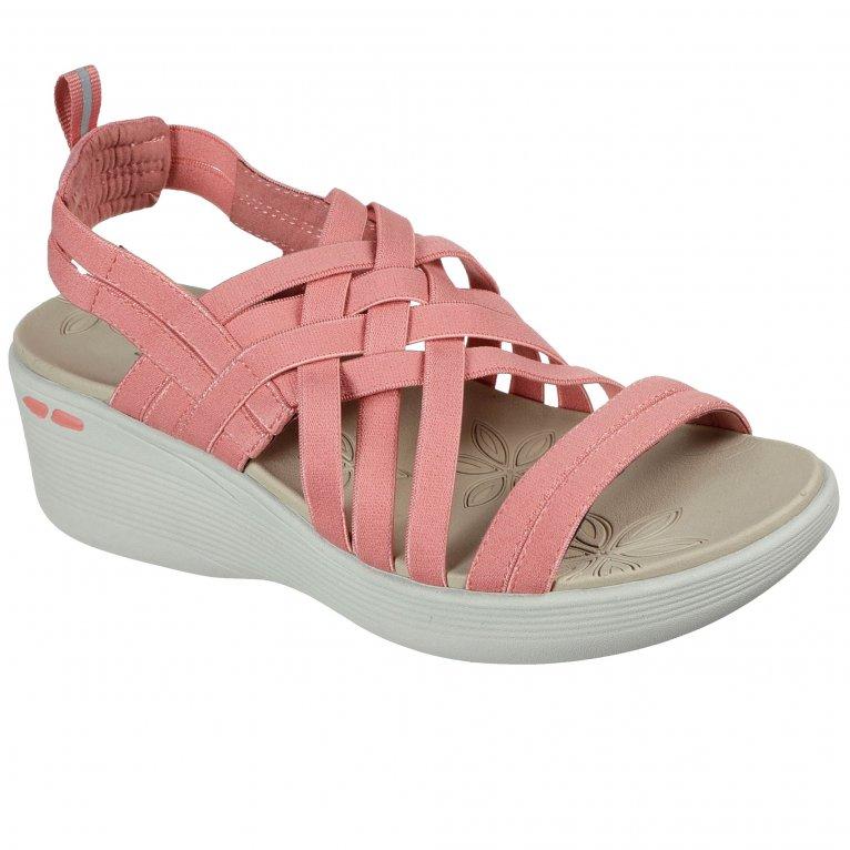 Skechers Pier-Lite Womens Wedge Sandals